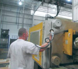 Bowles Electrostatic Painting - Machinery Painting - Louisville Ky