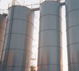Bowles Electrostatic Painting - Silo Painting - Louisville Ky