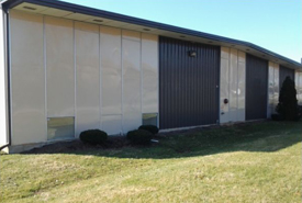 Bowles Electrostatic Painting - Building Painting - Vivid Impact - Louisville Ky