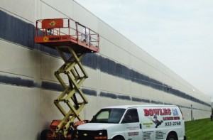 Bowles Electrostatic Painting - Building Painting - Ann Taylor - Louisville Ky
